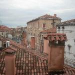 Vista dei tetti di Venezia