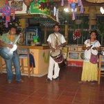 trio playing at Pina Colada