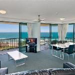 Ocean views from large living areas