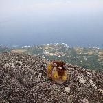 モッチョム岳頂上からの景色