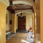 Hall di ingresso al Riad