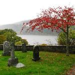 Boleskine Cemetery, a few miles from B&B