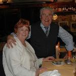 Alvaro with my wife Christine