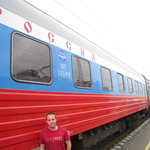 Starting out - the Russian train..