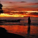 'standard' EW sunset