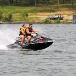 Mark & Jen jet ski, entierly to much fun