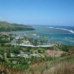 The View from the of hill for a Tsunami Warning