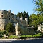curiosité: le Château de Beaufort