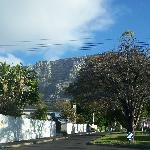 View on the table mountain from our room