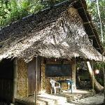 one of the huts