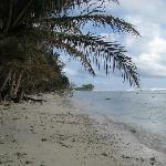 Kosrae beach