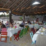 Tables Under Palapa