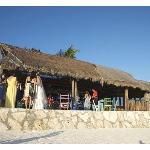 Restaurant from Beach