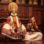 Kathikali theatre performance
