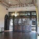 front door from the inside
