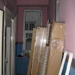 Vestibule before the toilet