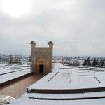17 December 2009.Samarkand, Uzbekistan.Ulugh Beg's observatory.