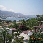 the view of the gulf of parikia