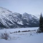 Dog Sledding Venue - Dec 13 - Canmore, Alberta - Temperature was -22F = FREEZING!!!!