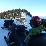 Snowmobiling at Winter Park