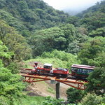 One of the four bridges during the trip inside the Monteverde Cloud Forest