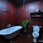 Trendy Bathroom in VIP room