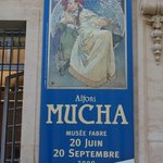 the main reason to make this stop, an amazing and overwhelming Mucha exhibition