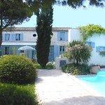 Main house, La Caussoliere