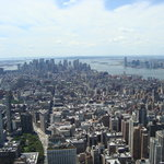 Empire State Building Observatory Deck- Downtown View