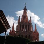 la iglesia!
