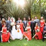Wedding Party in the Garden