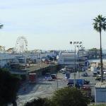 """El famoso muelle de Santa Mónica, aquí se han filmado muchas películas, entre ellas """"Celular"""" y"""