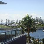 View from room 304 over Kiama harbour