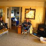 awesome living room...with Brian