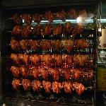 Pork knuckle roasting at Haxnbauer in Munich
