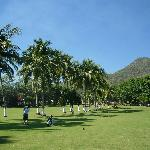 picture of Santiago golf course where we golfed 4 x