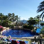 one of the many pools - this one overlooks the ocean