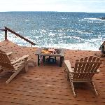 Sea Rose Suite's Own Private Deck
