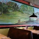 Inside Enchilada's restaurant