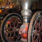 antique coffee mill in breakfast area