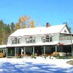 Trail's End Inn in the winter