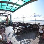 Open Air Restaurant on the top