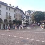 Piazza Di Garibaldi, Asolo (from memory)