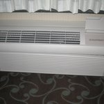 Powerful heating/cooling unit in room