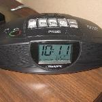 Clock Radio with built-it input for mp3 players