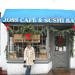 Outside Joss Sushi