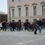 Kristallnacht crowd @ Bebelplatz