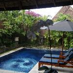 Dusun pool area - single villa