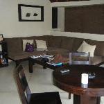 Dusun outdoor lounge area - single villa
