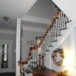 The beautiul stairway